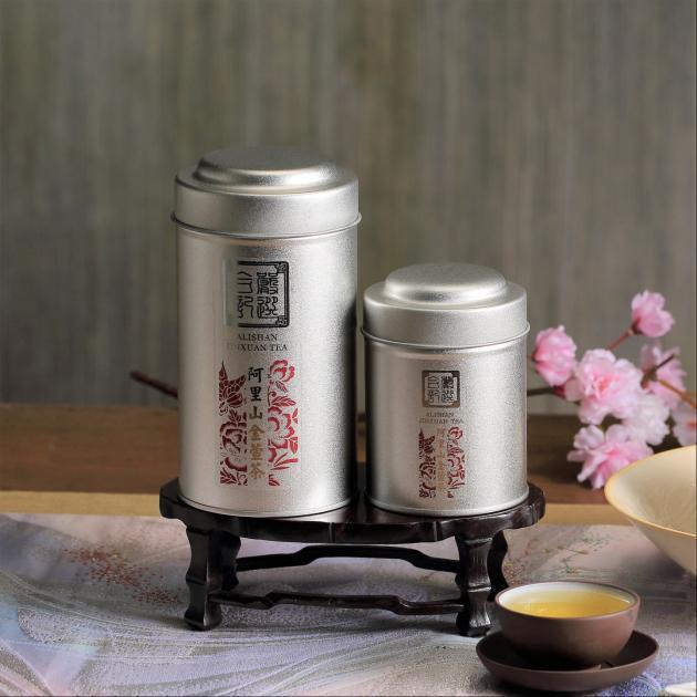 阿里山奶香金萱茶75g 2