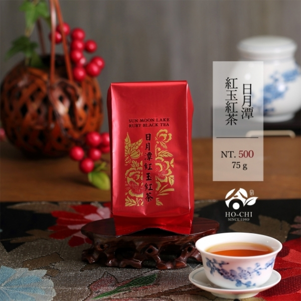 日月潭紅玉紅茶75g 1