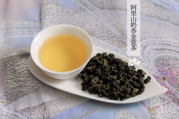 阿里山奶香金萱茶75g 3