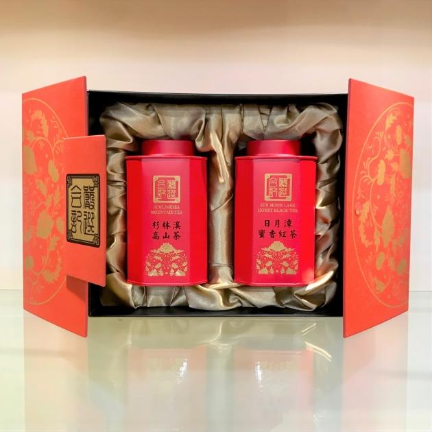 蜜紅杉韻茶禮(蜜香紅+高山茶) 2